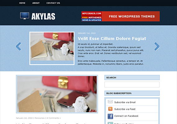 akylas 46-free-wordpress-3.0-themes