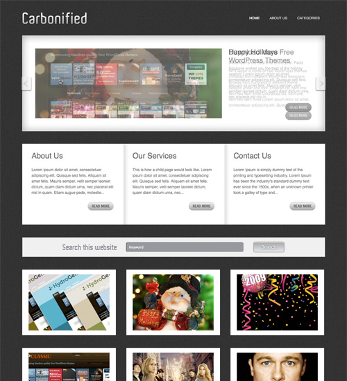 carbonified 46-free-wordpress-3.0-themes