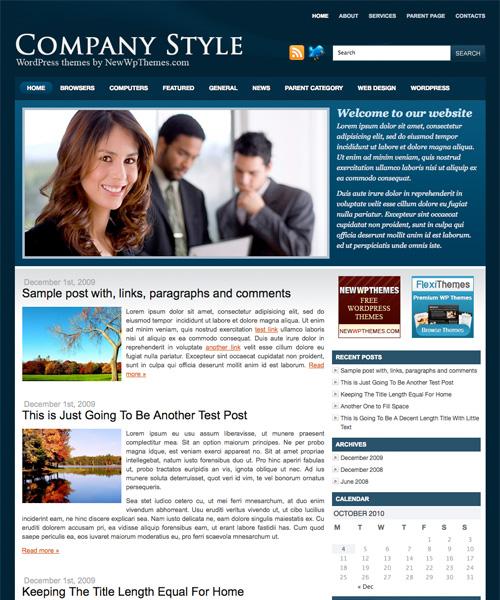 company style 46-free-wordpress-3.0-themes