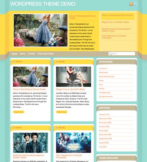 dimenzion 46-free-wordpress-3.0-themes