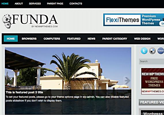 funda 46-free-wordpress-3.0-themes