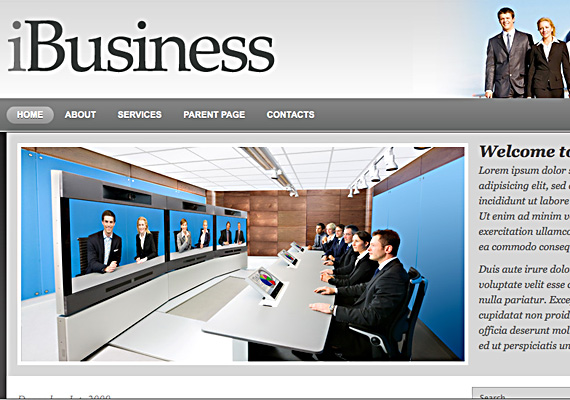 ibusiness 46-free-wordpress-3.0-themes