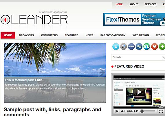 leander 46-free-wordpress-3.0-themes