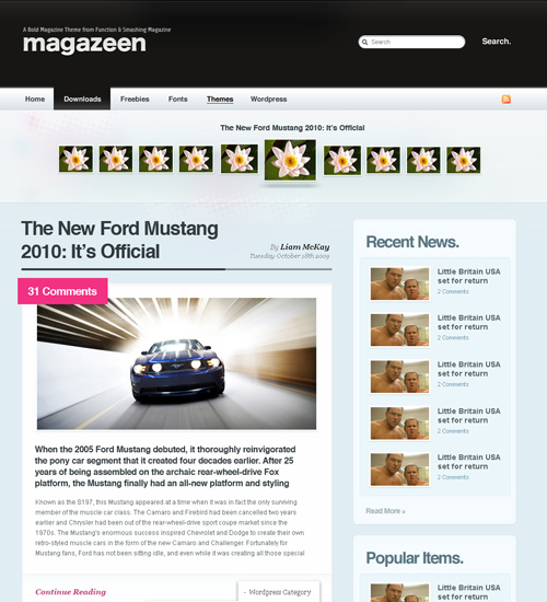 magazeen 46-free-wordpress-3.0-themes
