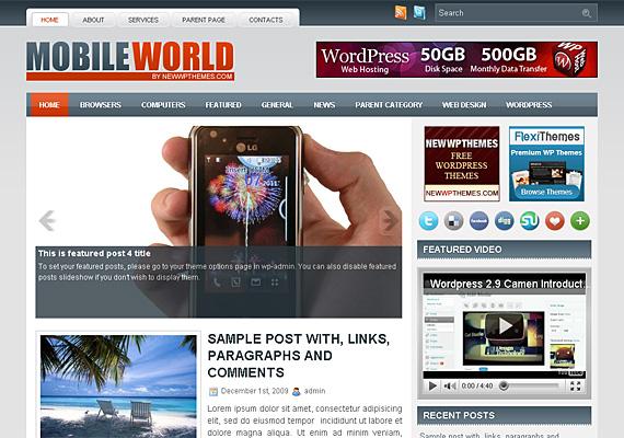 mobileworld 46-free-wordpress-3.0-themes