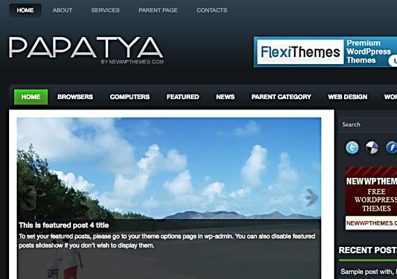 papatya 46-free-wordpress-3.0-themes