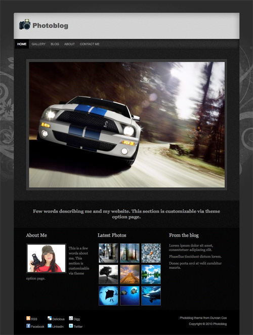 photoblog 46-free-wordpress-3.0-themes