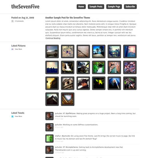 seven five 46-free-wordpress-3.0-themes