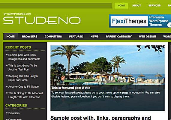 studeno 46-free-wordpress-3.0-themes