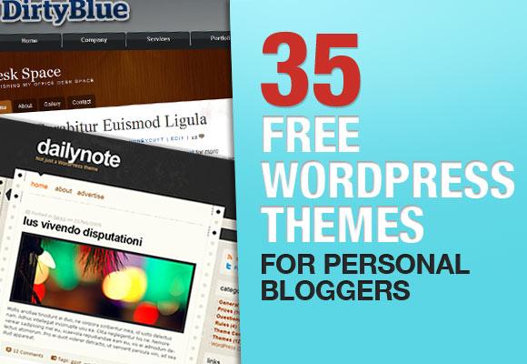 35款免费WordPress主题推荐